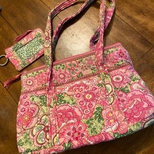 Vera Bradley purse and wallet combo